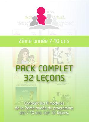 2ème année 7-10 ans (32 leçons)